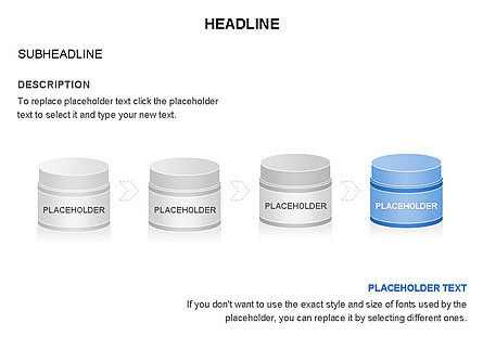 Plastic Jar Diagrams, Slide 8, 03472, Business Models — PoweredTemplate.com