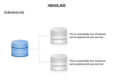 Plastic Jar Diagrams, Slide 9, 03472, Business Models — PoweredTemplate.com