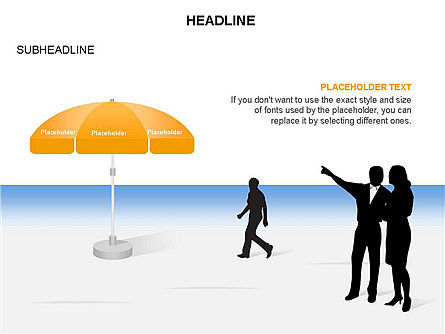 Umbrella Diagram, Slide 27, 03476, Business Models — PoweredTemplate.com