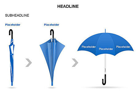 Umbrella Diagram, Slide 33, 03476, Business Models — PoweredTemplate.com