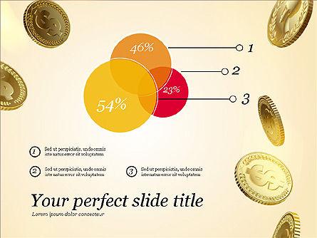 Money Falling From the Sky, Slide 10, 03481, Presentation Templates — PoweredTemplate.com