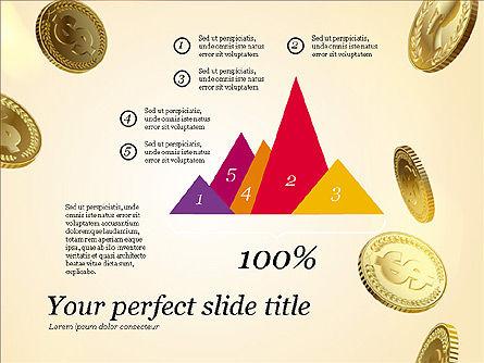 Money Falling From the Sky, Slide 12, 03481, Presentation Templates — PoweredTemplate.com