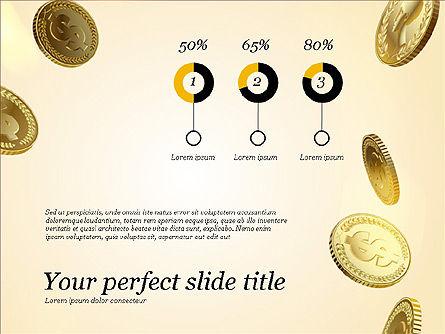 Money Falling From the Sky, Slide 13, 03481, Presentation Templates — PoweredTemplate.com