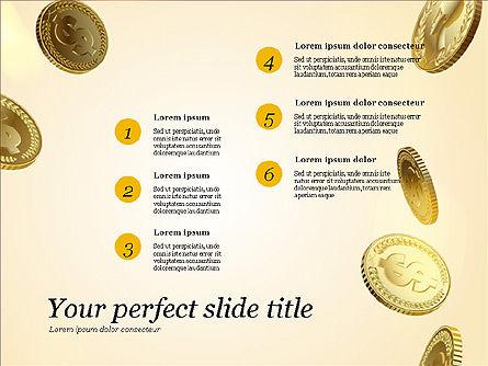 Money Falling From the Sky, Slide 15, 03481, Presentation Templates — PoweredTemplate.com
