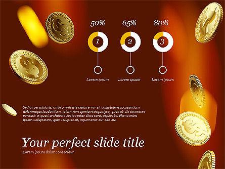 Money Falling From the Sky, Slide 5, 03481, Presentation Templates — PoweredTemplate.com