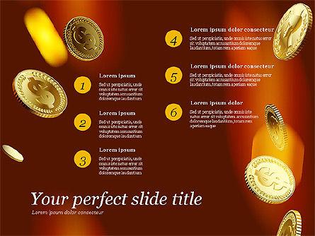 Money Falling From the Sky, Slide 7, 03481, Presentation Templates — PoweredTemplate.com