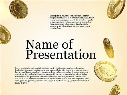 Money Falling From the Sky, Slide 9, 03481, Presentation Templates — PoweredTemplate.com