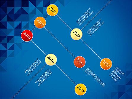 Timeline Concept, Slide 10, 03483, Timelines & Calendars — PoweredTemplate.com