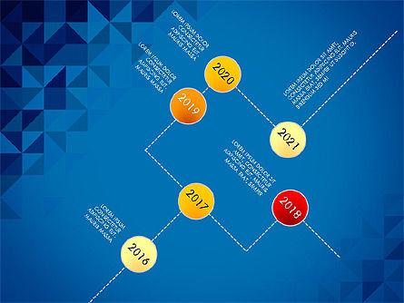 Timeline Concept, Slide 13, 03483, Timelines & Calendars — PoweredTemplate.com