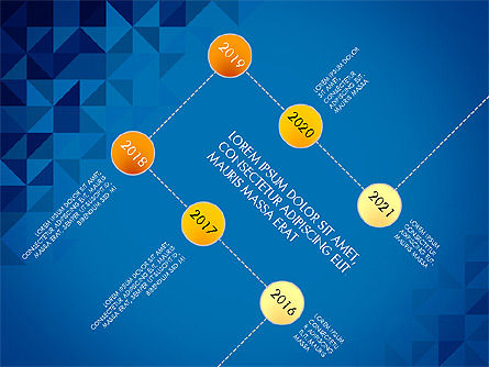 Timeline Concept, Slide 14, 03483, Timelines & Calendars — PoweredTemplate.com