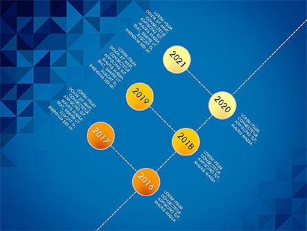 Timeline Concept, Slide 15, 03483, Timelines & Calendars — PoweredTemplate.com