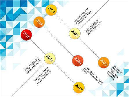 Timeline Concept, Slide 2, 03483, Timelines & Calendars — PoweredTemplate.com