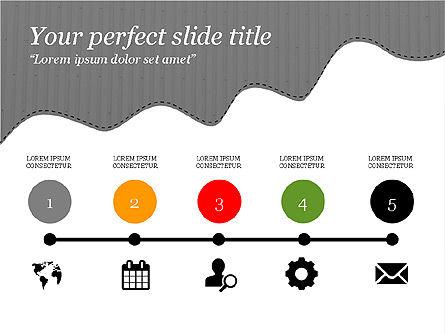 Creative Slides Deck, Slide 11, 03484, Presentation Templates — PoweredTemplate.com
