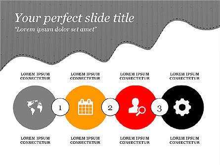 Creative Slides Deck, Slide 12, 03484, Presentation Templates — PoweredTemplate.com
