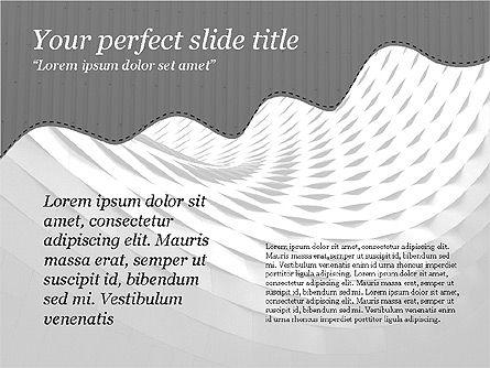 Creative Slides Deck, Slide 13, 03484, Presentation Templates — PoweredTemplate.com
