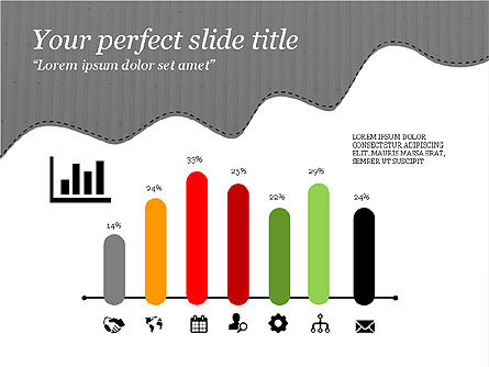 Creative Slides Deck, Slide 14, 03484, Presentation Templates — PoweredTemplate.com