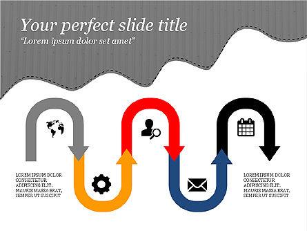 Creative Slides Deck, Slide 15, 03484, Presentation Templates — PoweredTemplate.com