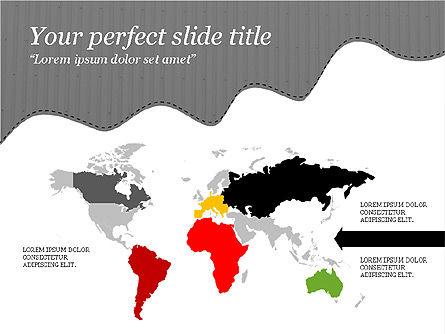 Creative Slides Deck, Slide 16, 03484, Presentation Templates — PoweredTemplate.com