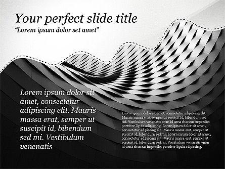 Creative Slides Deck, Slide 5, 03484, Presentation Templates — PoweredTemplate.com
