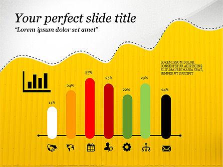 Creative Slides Deck, Slide 6, 03484, Presentation Templates — PoweredTemplate.com