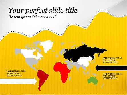 Creative Slides Deck, Slide 8, 03484, Presentation Templates — PoweredTemplate.com