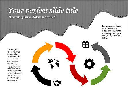 Creative Slides Deck, Slide 9, 03484, Presentation Templates — PoweredTemplate.com