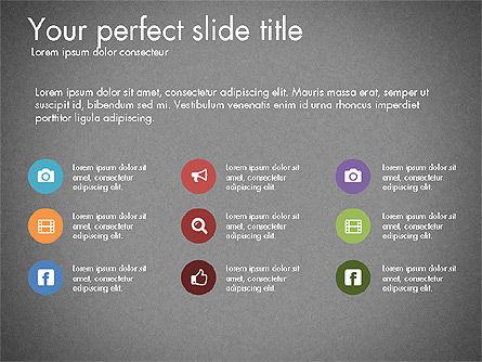 Business Presentation Slide Deck, Slide 11, 03485, Presentation Templates — PoweredTemplate.com