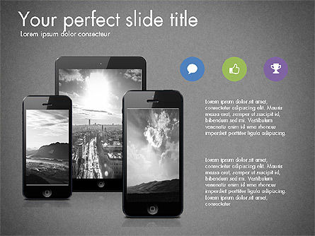 Business Presentation Slide Deck, Slide 13, 03485, Presentation Templates — PoweredTemplate.com