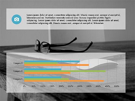 Business Presentation Slide Deck, Slide 14, 03485, Presentation Templates — PoweredTemplate.com
