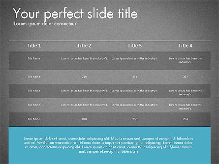 Business Presentation Slide Deck, Slide 15, 03485, Presentation Templates — PoweredTemplate.com