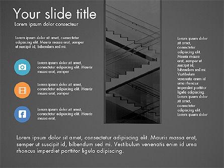Business Presentation Slide Deck, Slide 16, 03485, Presentation Templates — PoweredTemplate.com