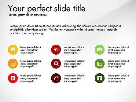 Business Presentation Slide Deck, Slide 3, 03485, Presentation Templates — PoweredTemplate.com