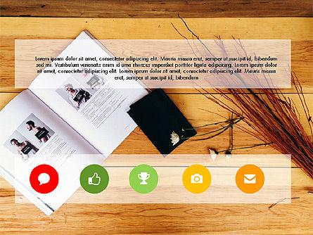 Business Presentation Slide Deck, Slide 4, 03485, Presentation Templates — PoweredTemplate.com