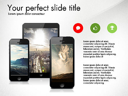 Business Presentation Slide Deck, Slide 5, 03485, Presentation Templates — PoweredTemplate.com