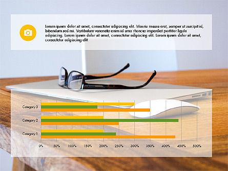Business Presentation Slide Deck, Slide 6, 03485, Presentation Templates — PoweredTemplate.com
