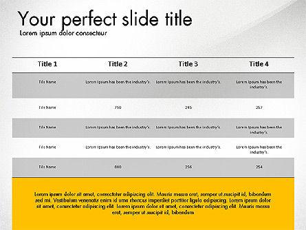 Business Presentation Slide Deck, Slide 7, 03485, Presentation Templates — PoweredTemplate.com