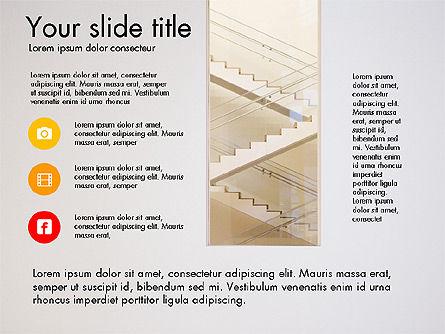 Business Presentation Slide Deck, Slide 8, 03485, Presentation Templates — PoweredTemplate.com