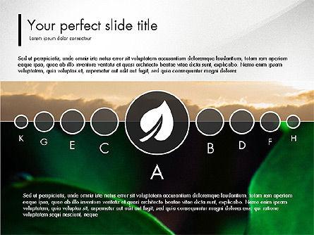 Ecology Infographic Presentation, 03486, Presentation Templates — PoweredTemplate.com