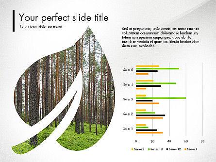 Ecology Infographic Presentation, Slide 4, 03486, Presentation Templates — PoweredTemplate.com