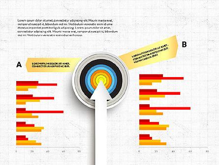 Bullseye Infographics, Slide 10, 03487, Infographics — PoweredTemplate.com
