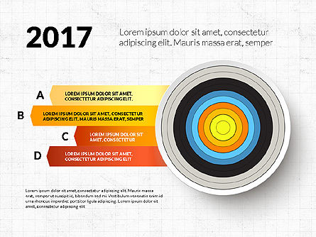 Bullseye Infographics, Slide 11, 03487, Infographics — PoweredTemplate.com