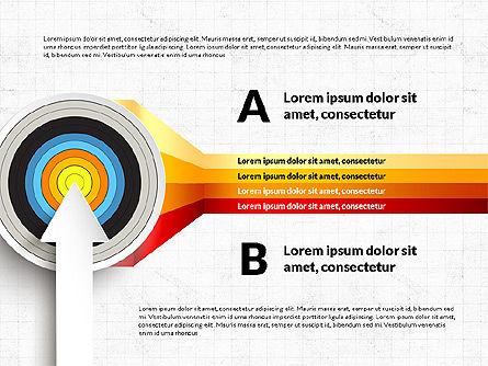 Bullseye Infographics, Slide 12, 03487, Infographics — PoweredTemplate.com