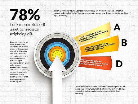 Bullseye Infographics, Slide 13, 03487, Infographics — PoweredTemplate.com