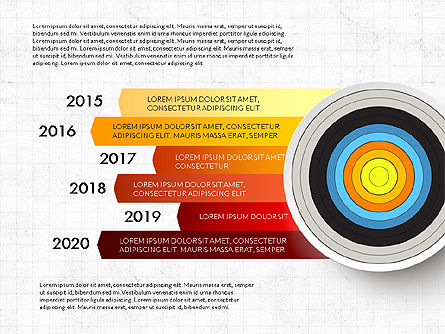 Bullseye Infographics, Slide 14, 03487, Infographics — PoweredTemplate.com