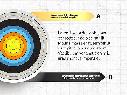 Bullseye Infographics, Slide 15, 03487, Infographics — PoweredTemplate.com