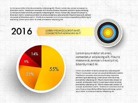 Bullseye Infographics, Slide 16, 03487, Infographics — PoweredTemplate.com