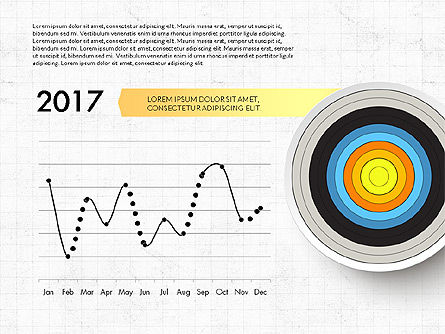 bullseye chart template - bullseye infographics for powerpoint presentations