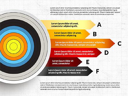 Bullseye Infographics, Slide 3, 03487, Infographics — PoweredTemplate.com