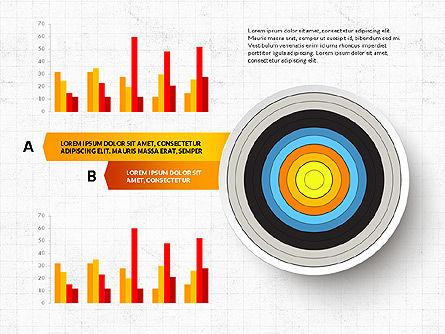 Bullseye Infographics, Slide 4, 03487, Infographics — PoweredTemplate.com