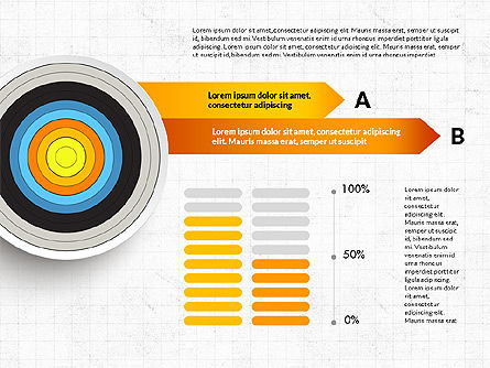 Bullseye Infographics, Slide 5, 03487, Infographics — PoweredTemplate.com